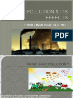 Air Pollution & Its Effects