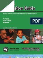 Milwaukee Recreation Activity Guide