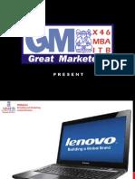 Lenovo-Building A Global Brand
