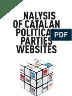 ANALYSIS OF CATALAN POLITICAL PARTIES WEBSITES