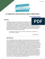 La explotación comercial de los archivos audiovisuales.pdf