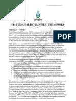 Professional Development Frameworkv0 9