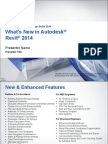 Revit 2014 Whats New