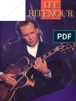 Lee Ritenour - Artist Transcriptions for Guitar