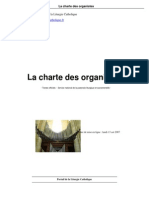 La Charte Des Organistes