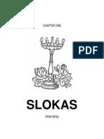 Slokas for daily prayer