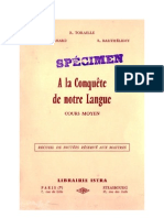 Langue Française Dictée CM1 CM2 Certificat d'Etude