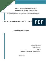 Semiotica analiza unui print