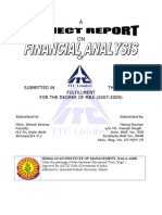 ITC Project Report by Manoj Kumar[1].Roll No 3048