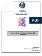 TESIS FRACTURAS SUPRACONDÌLEAS DE HÙMERO