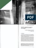 2.4.a. y 2.6. Cohen y Piovani (2006) Producción y reproducción de sentidos en torno a lo cualitativo y lo cuantitativo en la sociología