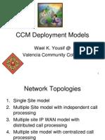 CCM Deployment Models