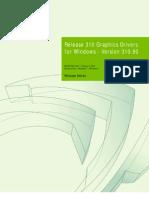 310.90 Win8 Win7 Winvista Notebook Release Notes Whql