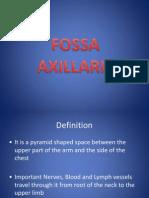 Anatomi Fossa Axillaris
