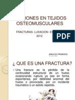 Lesiones en Tejidos Osteomusculares
