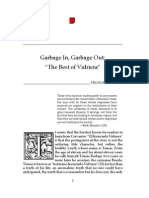 Garbage in, Garbage Out - The Best of Vidriera. GEORGE A. SHIPLEY