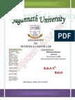 Bangladesh Labour Law 2006