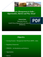 PPP in Waste Management in India
