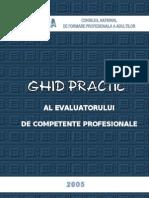 Ghidul Evaluatorului Competente Profesionalep