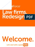 Law firms Redesigned presentation by LegalForce Chief Executive Raj Abhyanker at the Reinvent Law Silicon Valley conference in Mountain view, CA - March 6, 2013