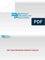 PMP Exam Prep_Workshop Overview v 1.0