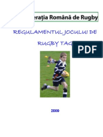Regulament Rugby TAG