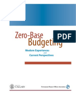 Gfo a Zero Based Budgeting