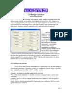Link Budget Calculator