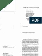Libro C13 - Saidon, Troianovski - Politicas en Salud Mental