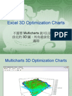 Excel 3D Optimization Charts