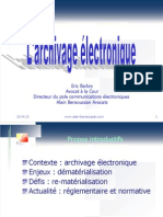 Archivage Informatique Legal