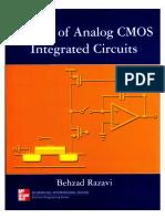 Design of Analog Cmos Integrated Circuits Razavi