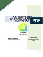 Capitulo 7.Plan de Contingencia Centro Agropecuario
