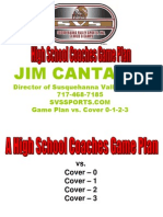 High School Coaches Game Plan vs Coverages.ppt