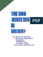 The God Absolute Truth or Mere Faith