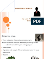 Role of an Od Consultant