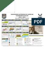Calendario Escolar 2012-2013 UAC