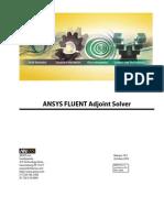Fluent Adjoint Solver 14.5