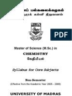 MSc Chemistry
