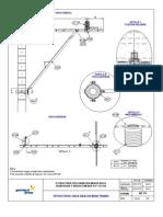 ESTRUCTURA TIPO BANDERA MONOFASICO ALINEACION Y ANGULO MENOR A 5° 13.2 KV MT 112