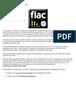 Convertir Un CD Audio en FLAC