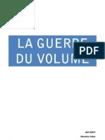 La Guerre Du Volume-sebastien Pablo