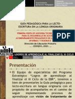 5.1 Presentacion Manejo de Lenguas Originarias