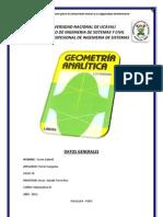 Trabajo de Matematica III - Geometria Analitica