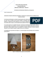 Proyecto Aprobacion Curso - Mecanica de Materiales