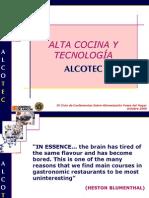 Alta Cocina y Tecnologia