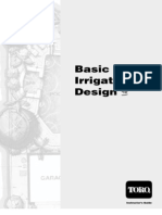 Toro Irrigation Design Workbook