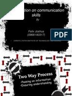 18276479 Communication and Presentation Skills