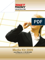 Internet Telephony Magazine 2009 Media-Kit