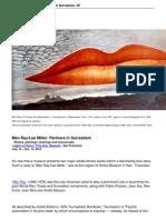Man Raylee Miller Partners in Surrealism Sf